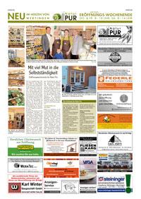 Zeitungsseite Wertinger Zeitung, 28. Januar 2016